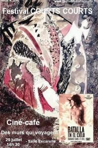 Affiche cine café 2011