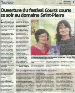 Article Var Matin Festival courtscourts 25072013